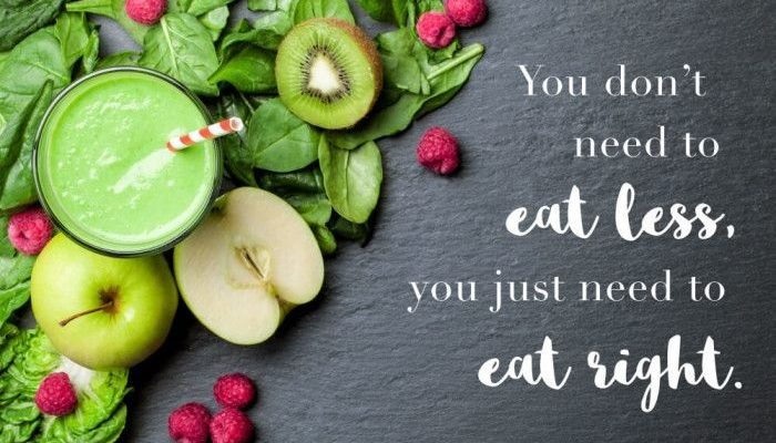 eat right with truvision weight loss